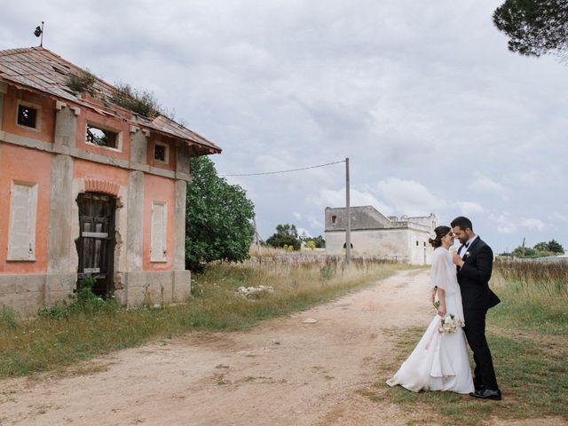 Il matrimonio di Ilario e Fiorella a San Pancrazio Salentino, Brindisi 45