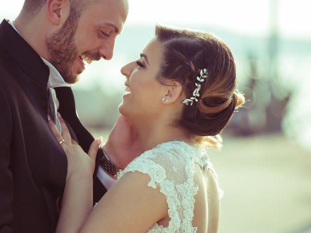 le nozze di Rossella e Salvatore