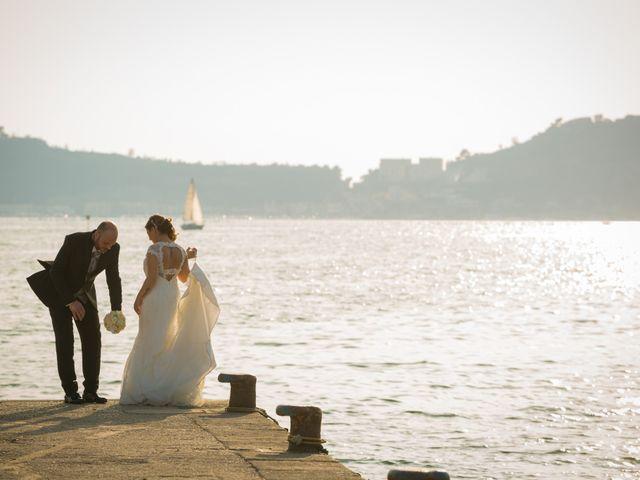 Il matrimonio di Salvatore e Rossella a Pozzuoli, Napoli 1