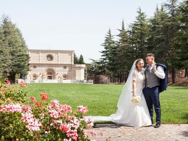 Il matrimonio di Egidio e Fabiola a L'Aquila, L'Aquila 10