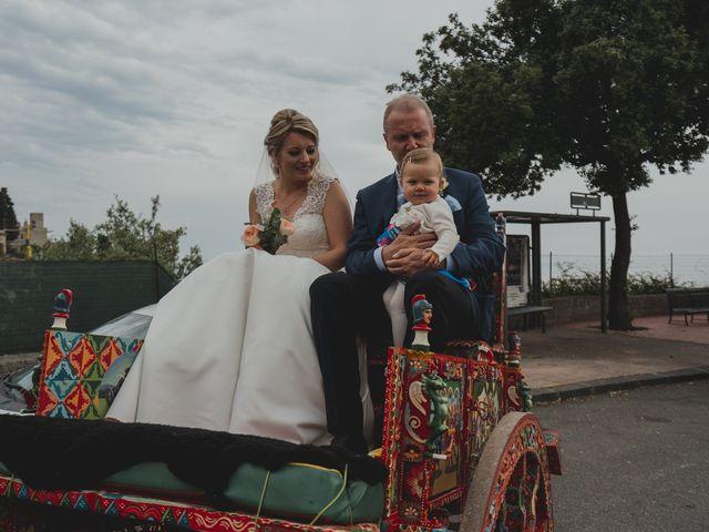 Il matrimonio di Miriam e Armando a Taormina, Messina 16