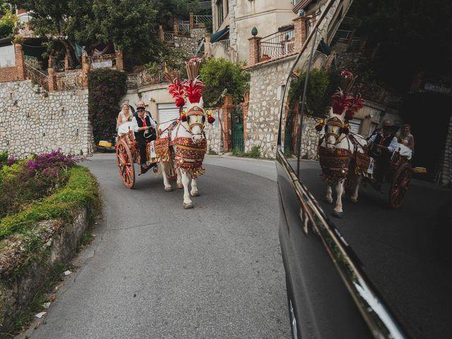 Il matrimonio di Miriam e Armando a Taormina, Messina 17