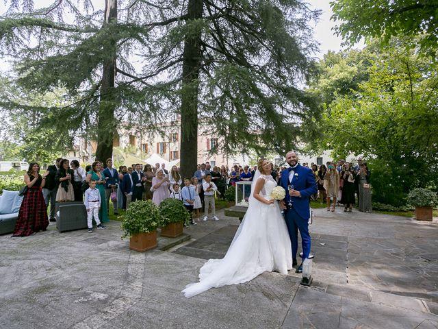 Il matrimonio di Giulio e Jessica a Isorella, Brescia 11