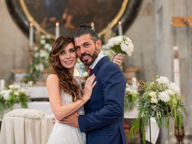 Il matrimonio di Cinzia e Valentino a Lido di Ostia, Roma 55