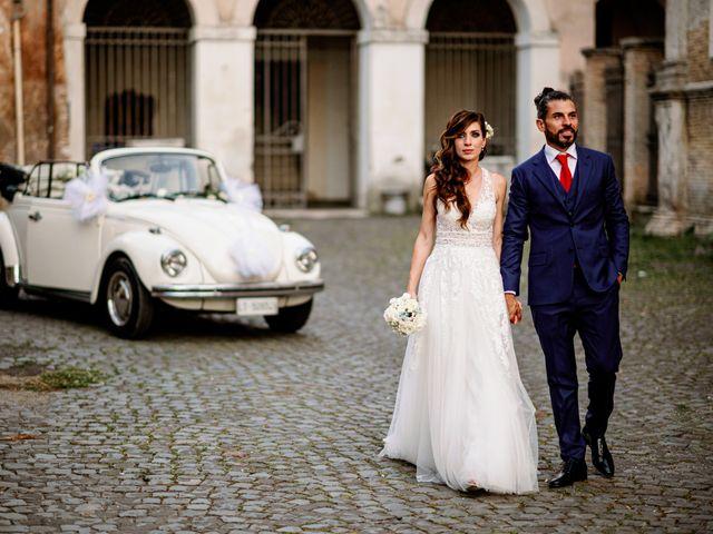 Il matrimonio di Cinzia e Valentino a Lido di Ostia, Roma 71