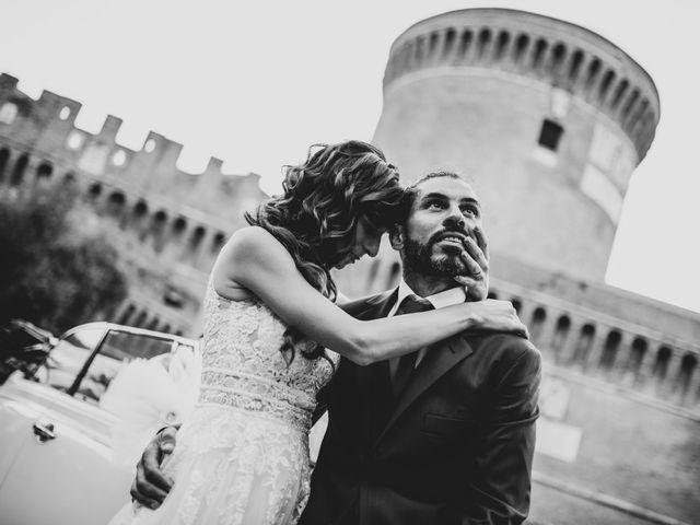 Il matrimonio di Cinzia e Valentino a Lido di Ostia, Roma 79