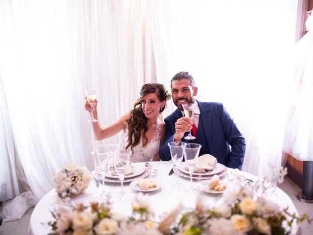 Il matrimonio di Cinzia e Valentino a Lido di Ostia, Roma 107