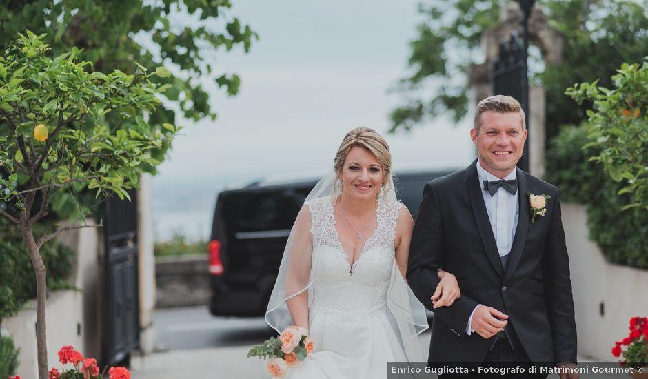 Il matrimonio di Miriam e Armando a Taormina, Messina