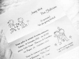 le nozze di Jenny e Pier 1