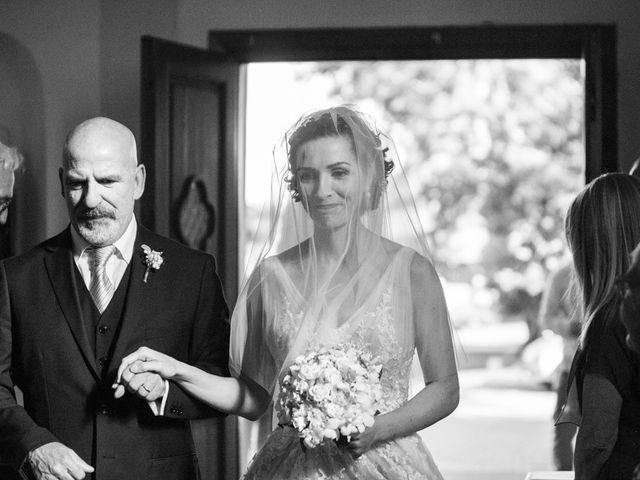 Il matrimonio di Luca e Sabrina a Sutri, Viterbo 8