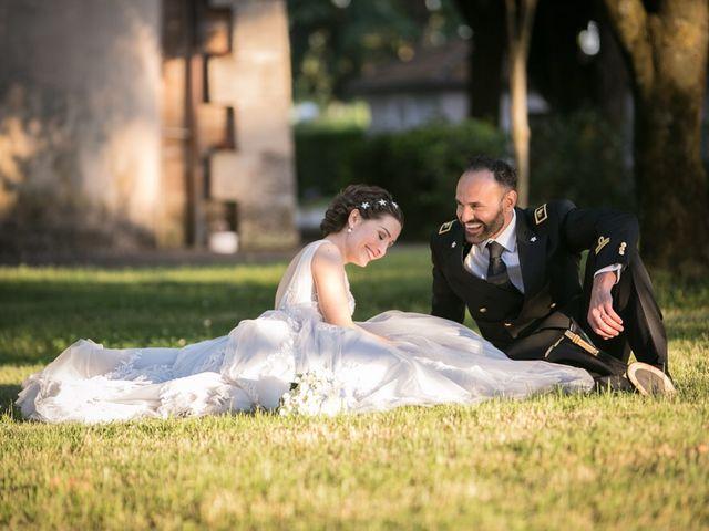 Le nozze di Sabrina e Luca