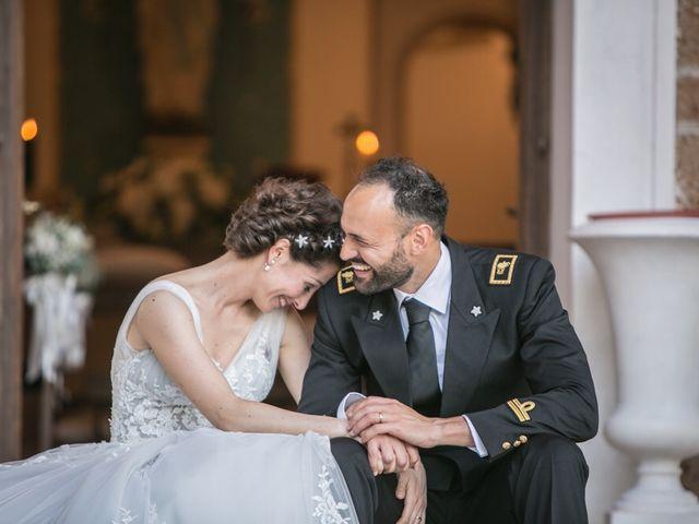 Il matrimonio di Luca e Sabrina a Sutri, Viterbo 16