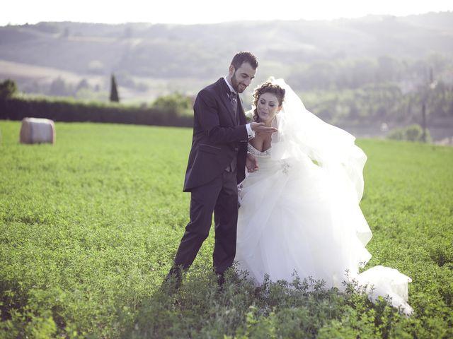 Il matrimonio di Antonio e Chiara a Castelfranco di Sotto, Pisa 14