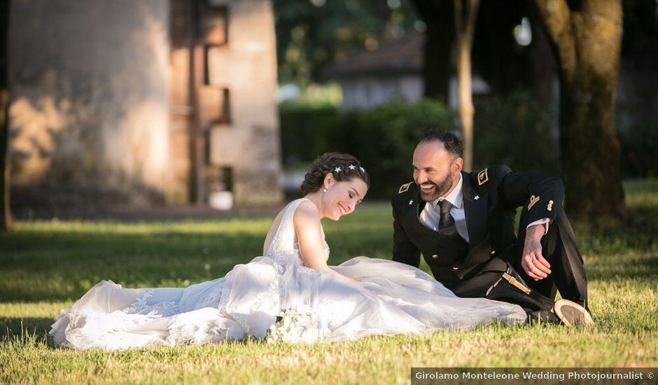Il matrimonio di Luca e Sabrina a Sutri, Viterbo