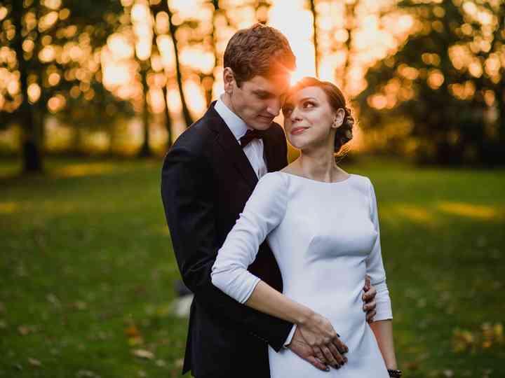 le nozze di Natalia e Krzysztof