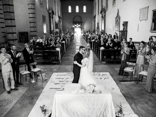 le nozze di Antonella e Andrea