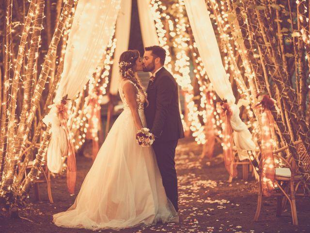 le nozze di Michelle e Fabio
