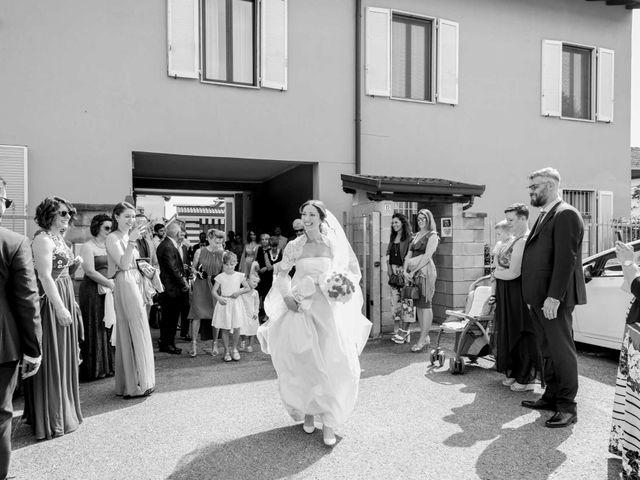 Il matrimonio di Alessandro e Chiara a Santo Stefano Ticino, Milano 32