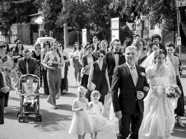 Il matrimonio di Alessandro e Chiara a Santo Stefano Ticino, Milano 33