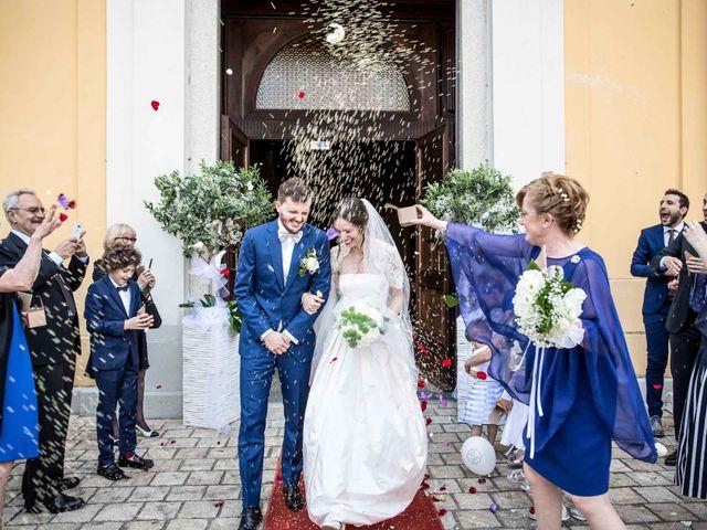 Il matrimonio di Alessandro e Chiara a Santo Stefano Ticino, Milano 58