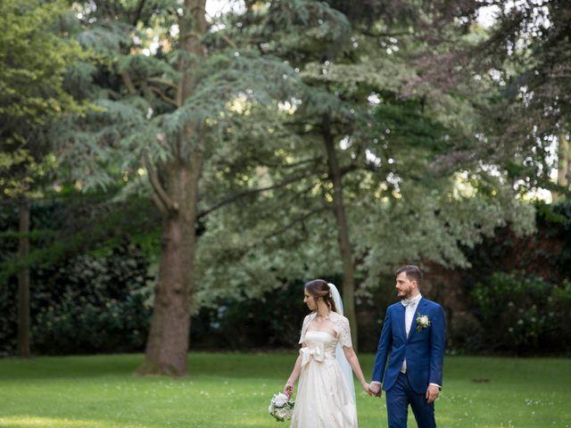 Il matrimonio di Alessandro e Chiara a Santo Stefano Ticino, Milano 106