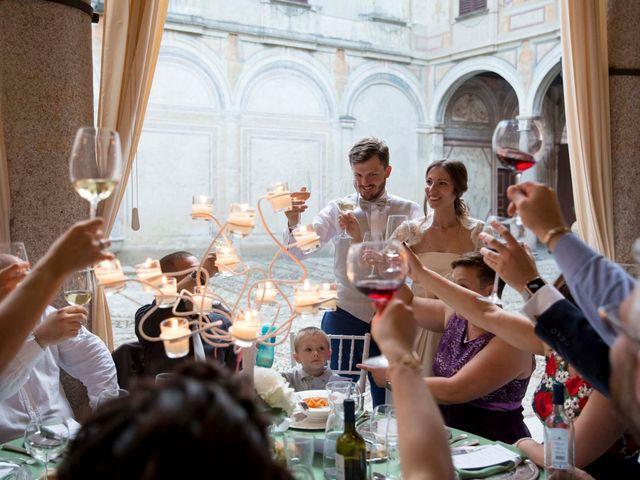 Il matrimonio di Alessandro e Chiara a Santo Stefano Ticino, Milano 114