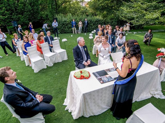 Il matrimonio di Giambattista e Sabrina a Trescore Balneario, Bergamo 8