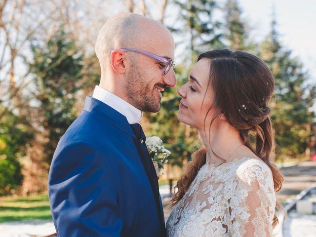 Le nozze di Michela e Patrick