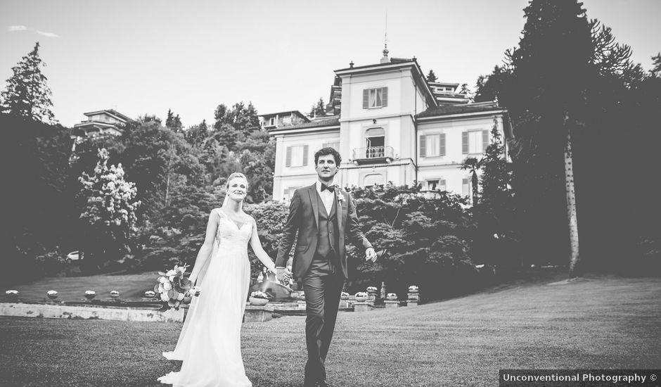 Il matrimonio di Augustine e Philippine a Stresa, Verbania