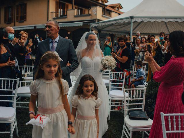 Il matrimonio di Christian e Natalia a Nerviano, Milano 28