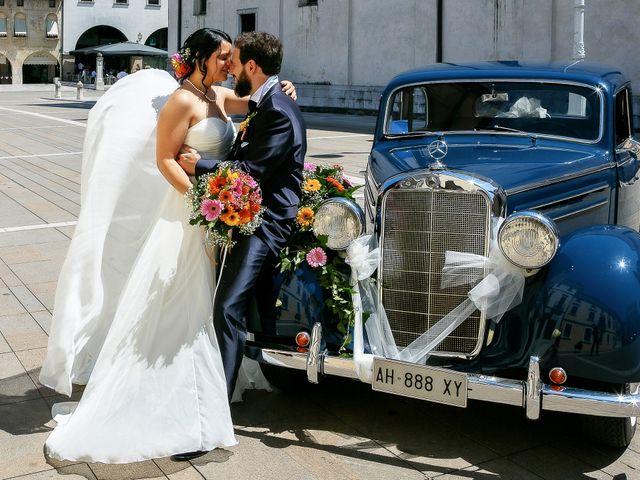 Il matrimonio di Fabio e Veronica a Treviso, Treviso 33