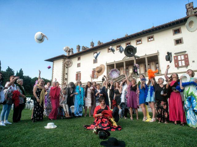 Il matrimonio di Alessandro e Monica a Poggio a Caiano, Prato 19