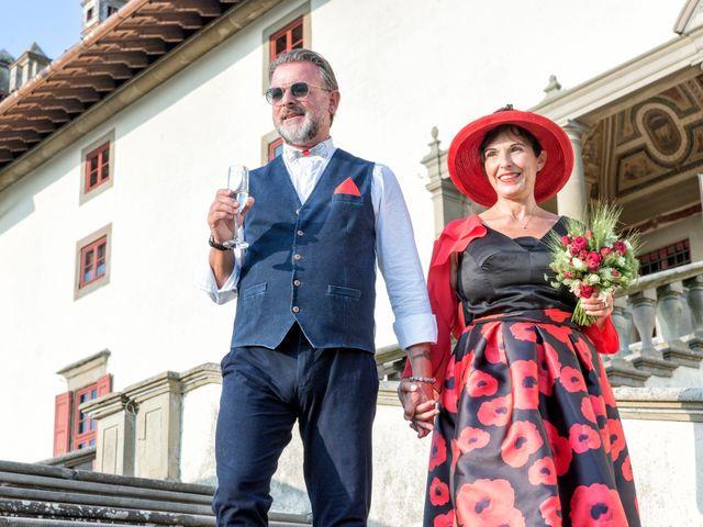 Il matrimonio di Alessandro e Monica a Poggio a Caiano, Prato 22