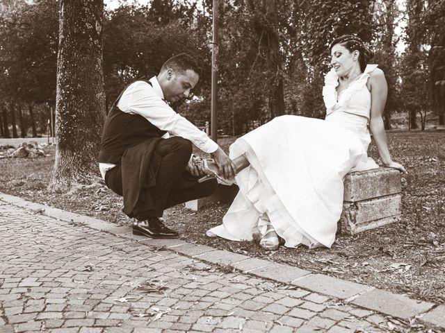 Il matrimonio di Giuseppe e Vanessa a Ostiglia, Mantova 42