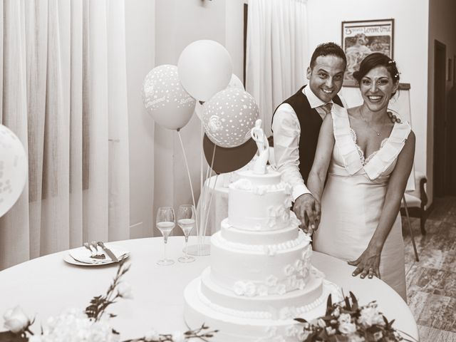Il matrimonio di Giuseppe e Vanessa a Ostiglia, Mantova 56