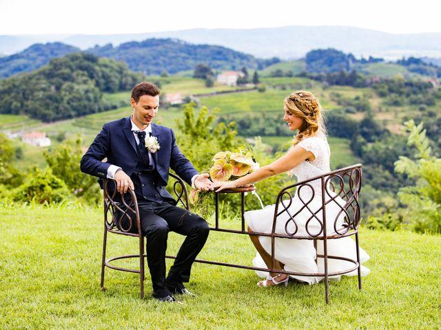 Il matrimonio di Stefano e Giada a San Floriano del Collio, Gorizia 18