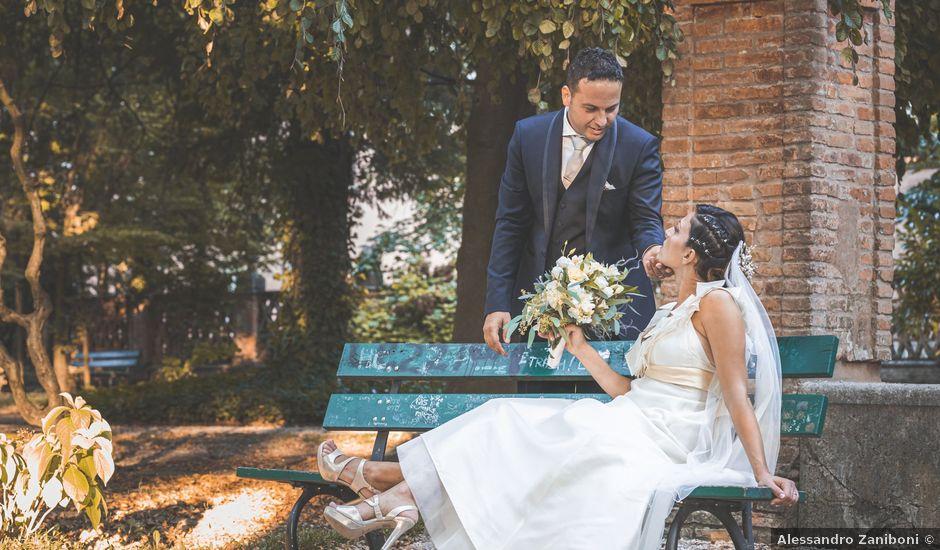 Il matrimonio di Giuseppe e Vanessa a Ostiglia, Mantova