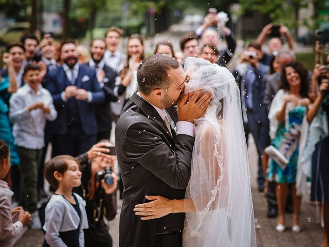 Il matrimonio di Gianluca e Francesca a Cusano Milanino, Milano 21