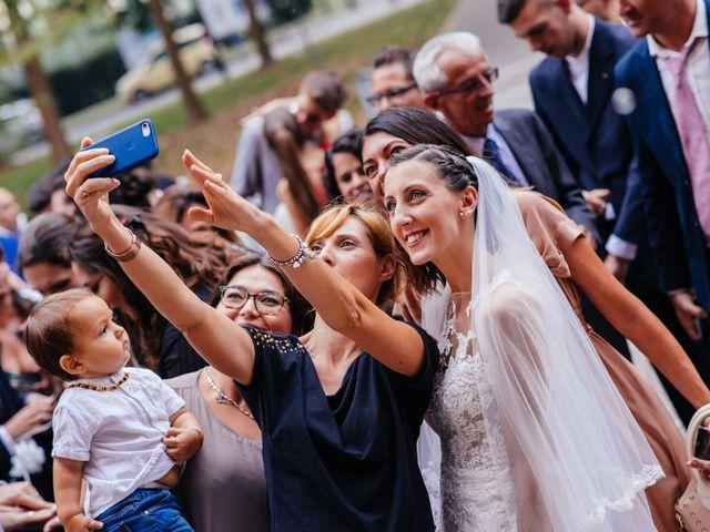 Il matrimonio di Gianluca e Francesca a Cusano Milanino, Milano 22
