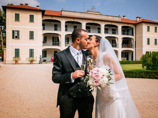 Il matrimonio di Gianluca e Francesca a Cusano Milanino, Milano 28