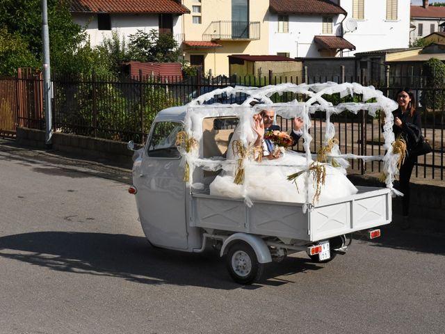 Il matrimonio di Adrea e Brenda a Mortara, Pavia 19