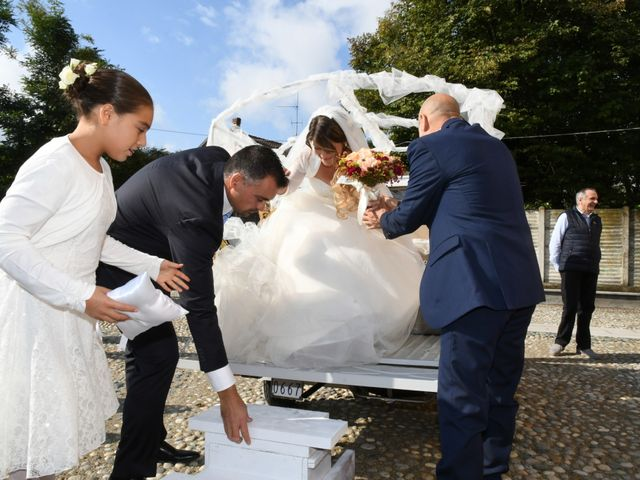 Il matrimonio di Adrea e Brenda a Mortara, Pavia 20