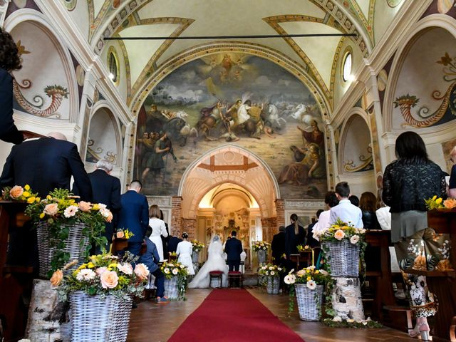Il matrimonio di Adrea e Brenda a Mortara, Pavia 26