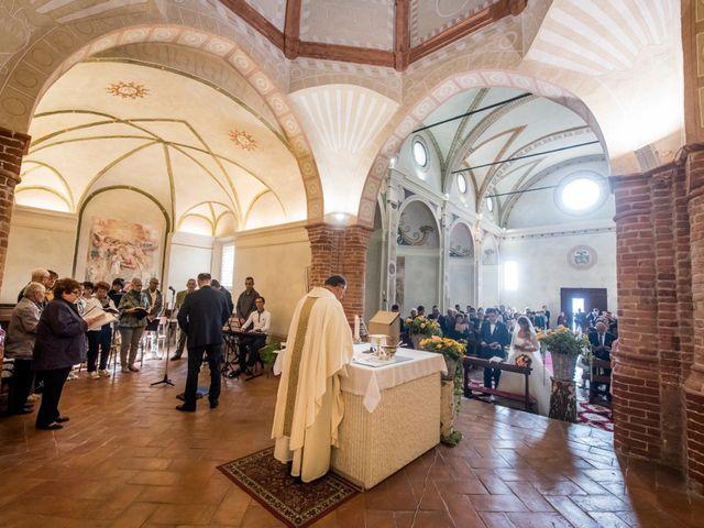 Il matrimonio di Adrea e Brenda a Mortara, Pavia 27