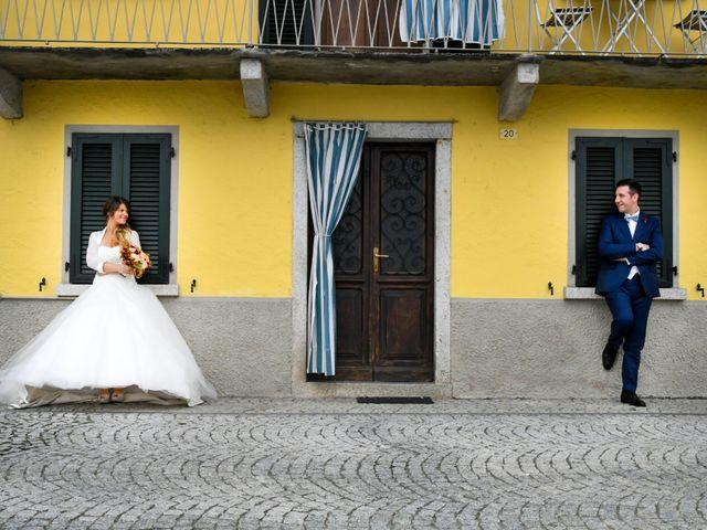 Il matrimonio di Adrea e Brenda a Mortara, Pavia 56