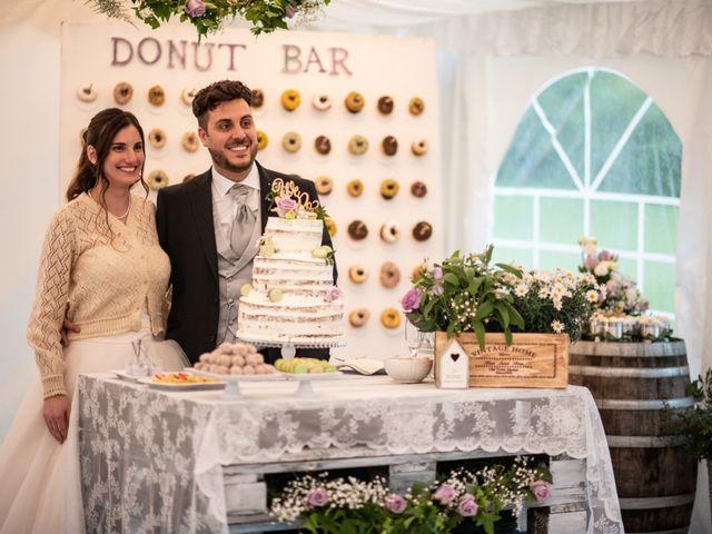 Il matrimonio di Mattia e Chiara a Montemagno, Asti 50
