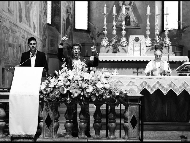 Il matrimonio di Lucio e Arianna a Fiesso d'Artico, Venezia 25