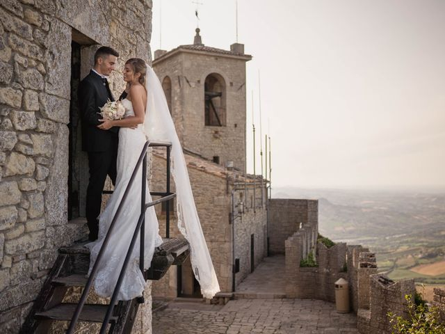 Il matrimonio di Gianluca e Eleonora a San Marino, San Marino 44
