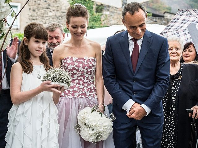 Il matrimonio di Mauro e Maria a Castelbianco, Savona 4