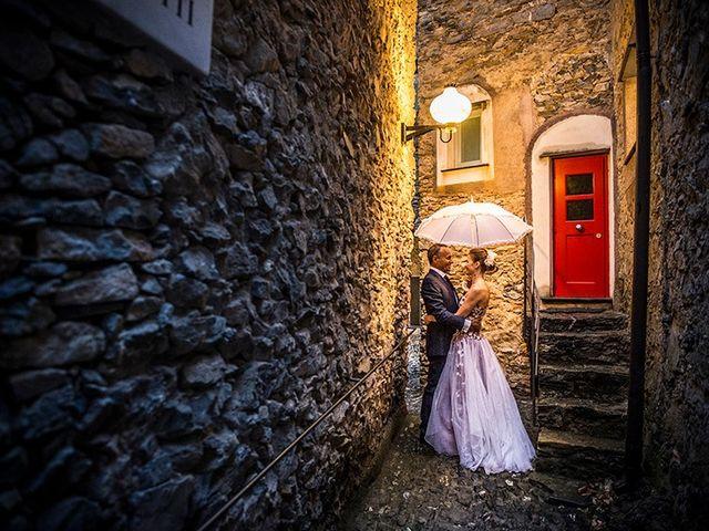 Il matrimonio di Mauro e Maria a Castelbianco, Savona 1